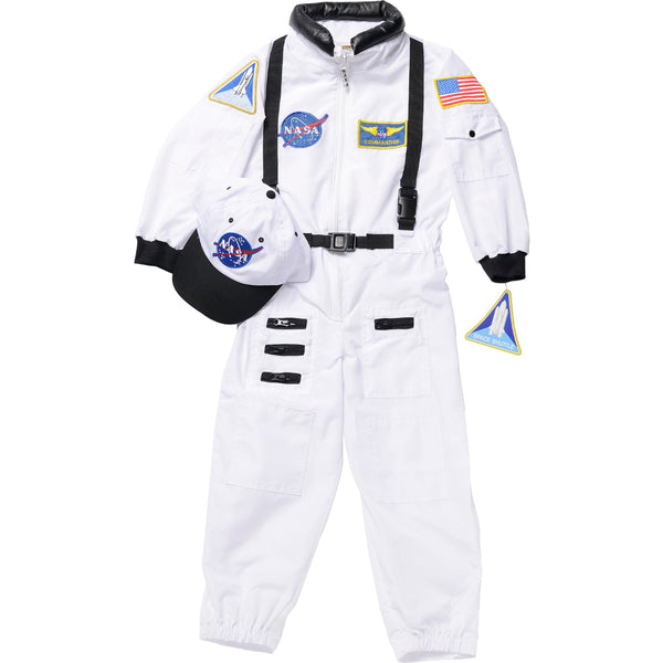 White Astronaut Flight Suit