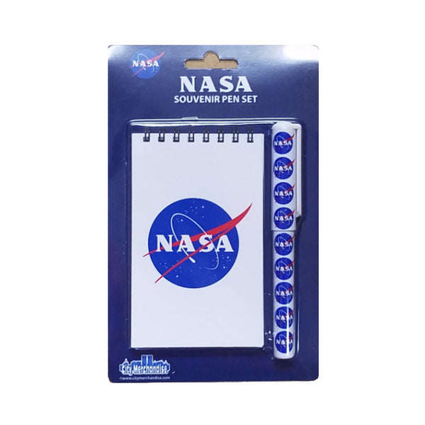 NASA Flip Notepad with Pen