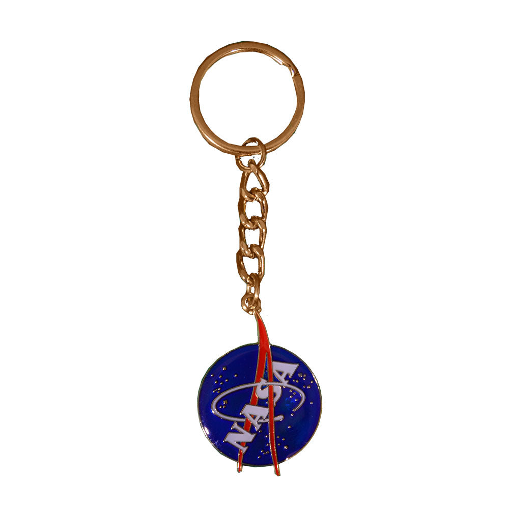 NASA Logo Metal Key Chain