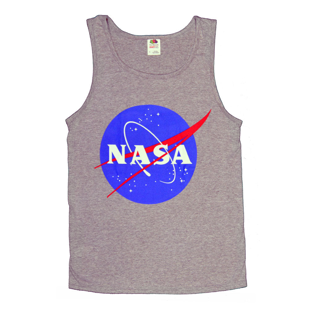 Grey NASA Meatball Tank Top