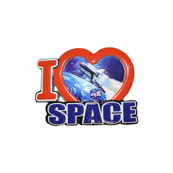 I Love Space Magnet