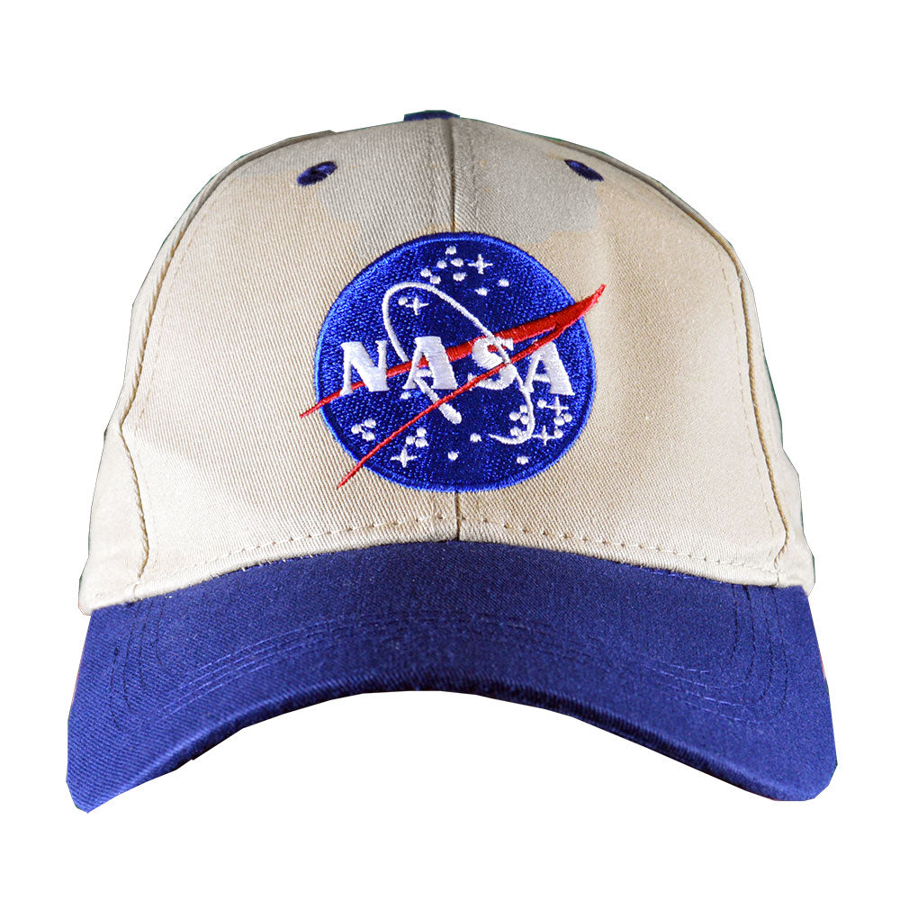 Khaki and Navy NASA Cap