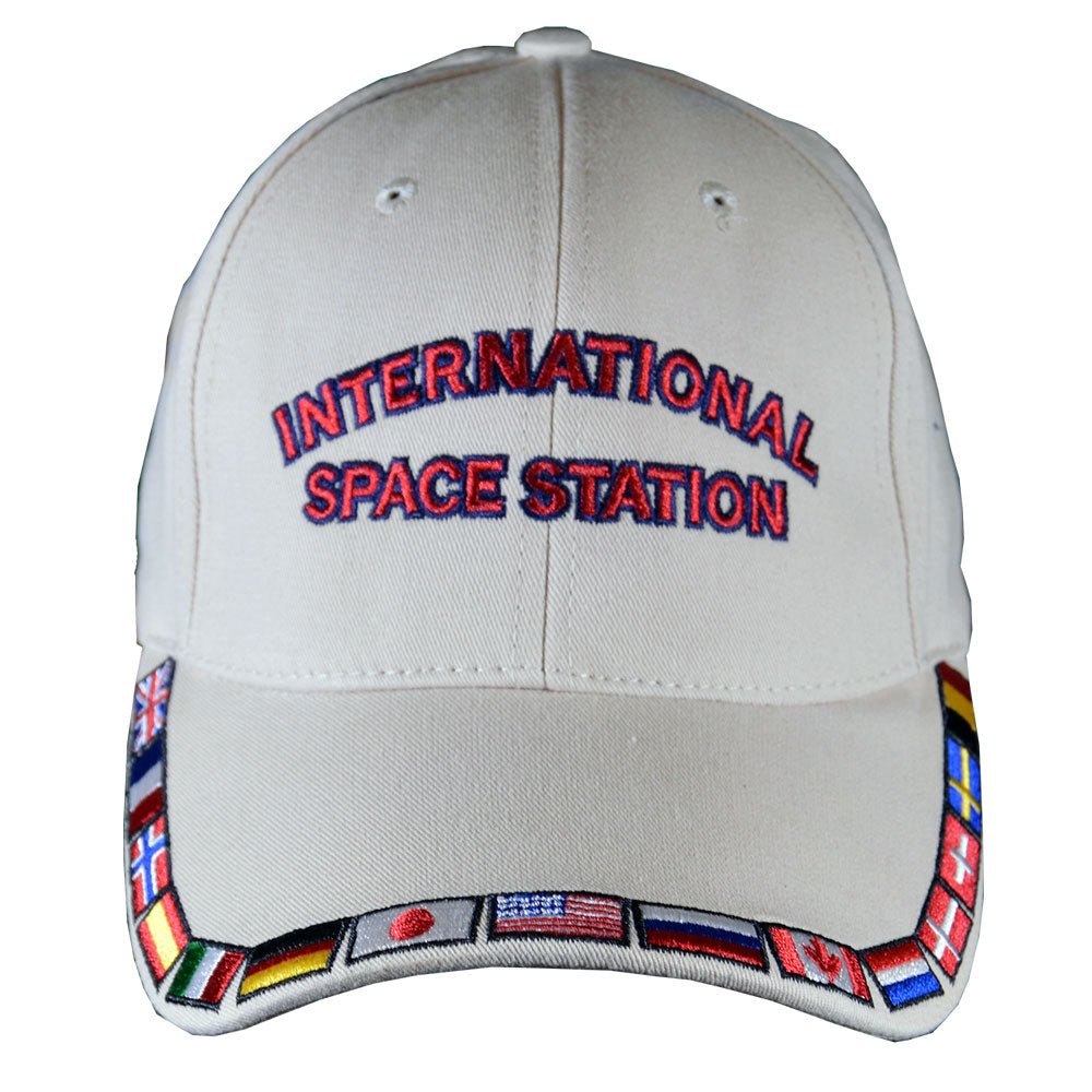 Khaki International Space Station Cap