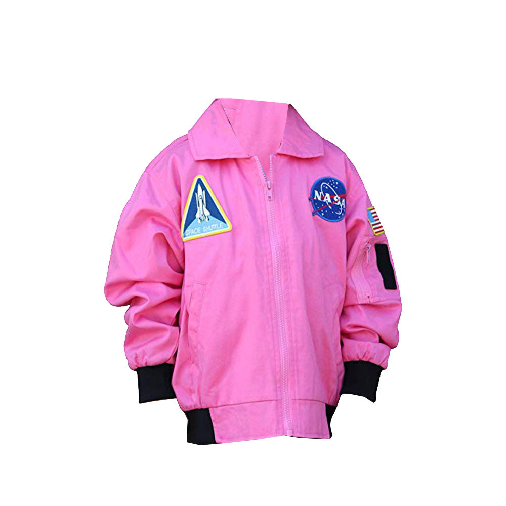 Pink Youth Flight Jacket