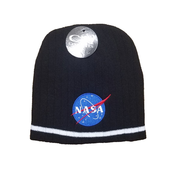NASA Knit Meatball Hat