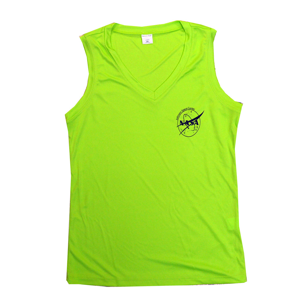 Ladies Sleeveless NASA Shirt