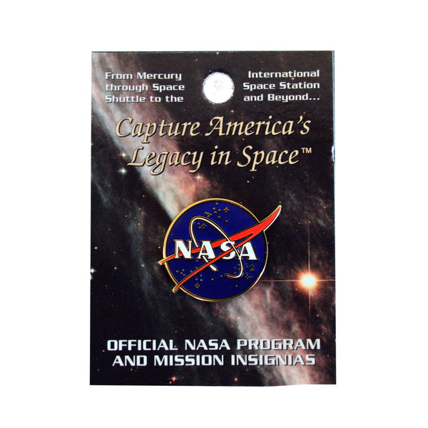 Large NASA Pin