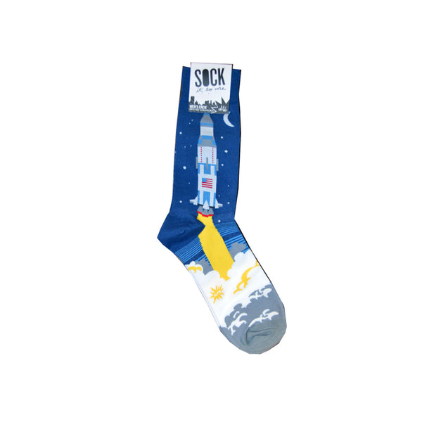 Men's Crew 3,2,1 Lift Off Socks