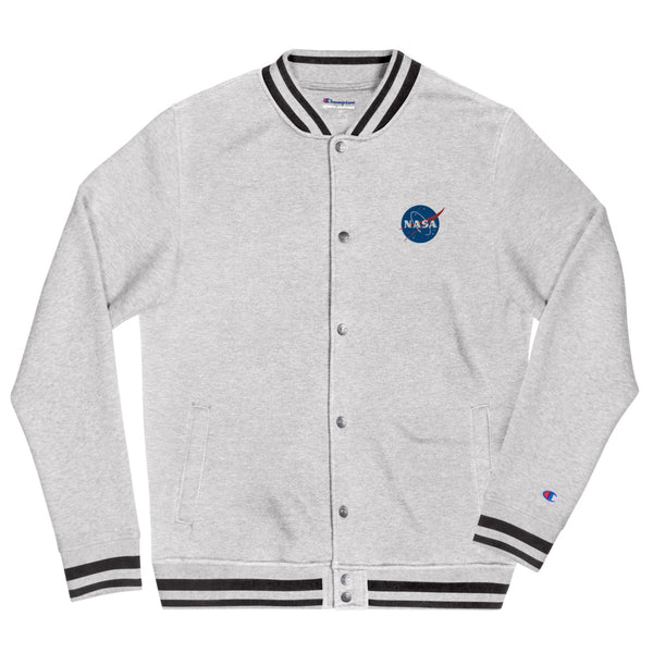 NASA Embroidered Champion Bomber Jacket