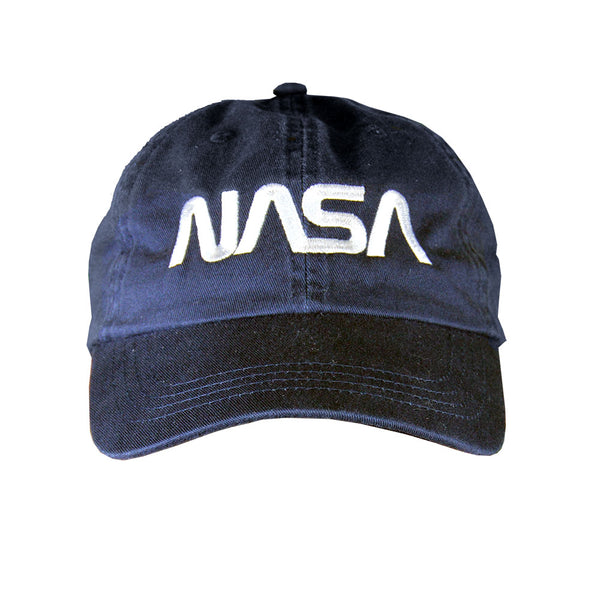 Navy NASA Worm Cap