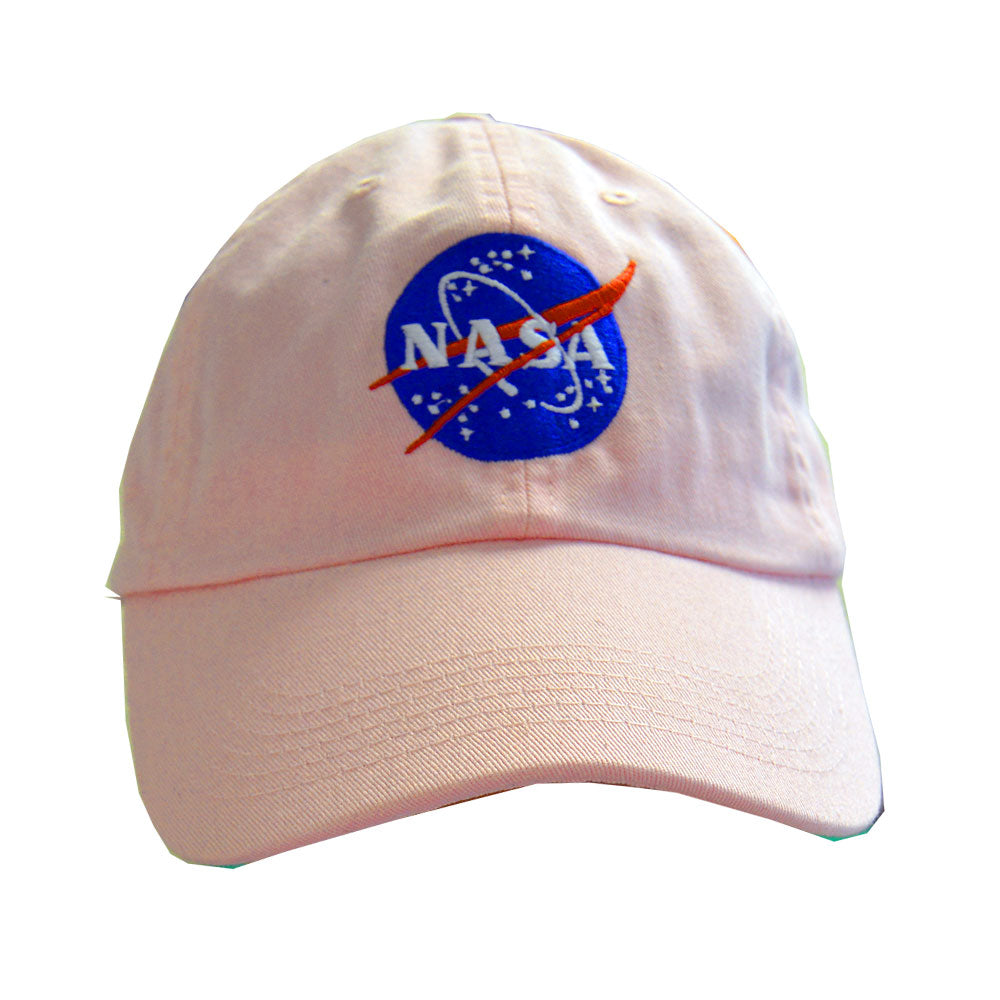 Pink NASA Meatball Cap
