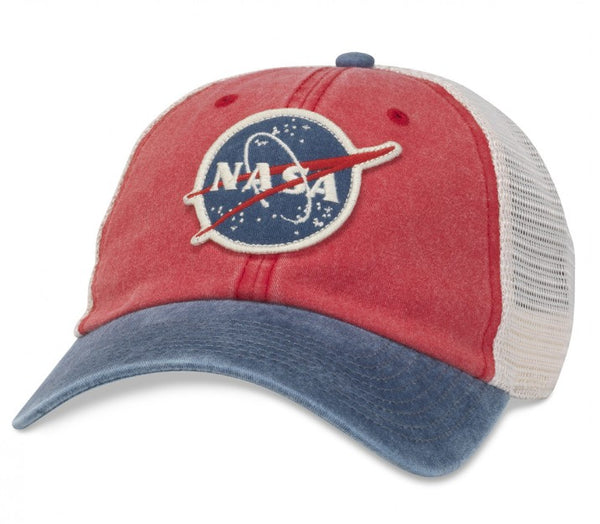 Red Hanover NASA Cap
