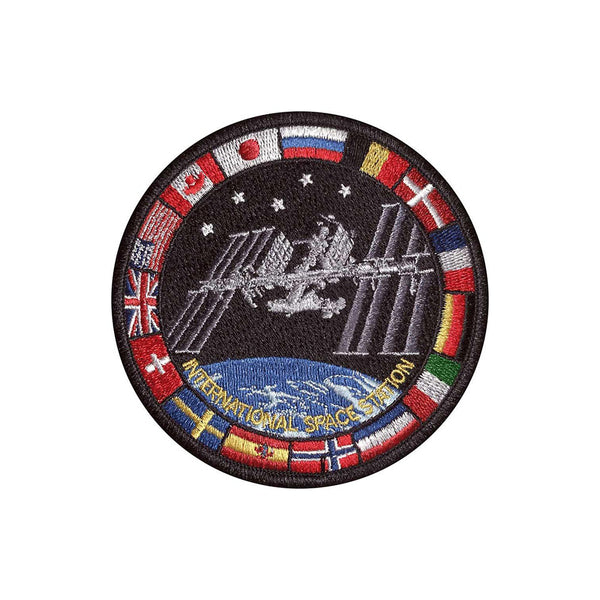 International Space Station Nations Patch