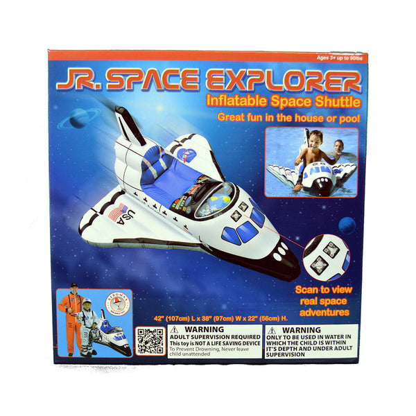 JR. Space Explorer Inflatable Shuttle