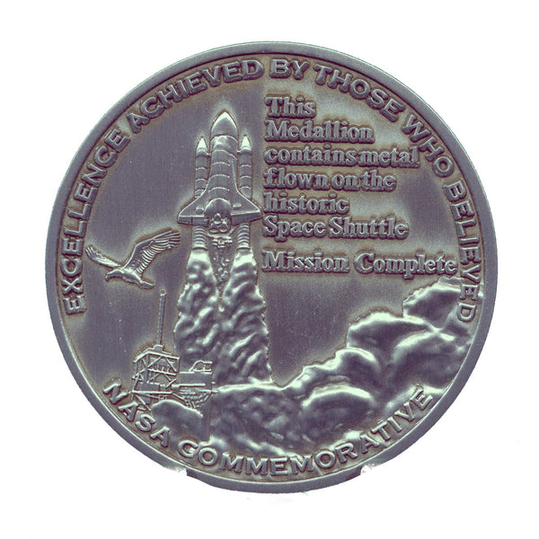 Celebrating The Legacy Of The Space Shuttle Program Medallion