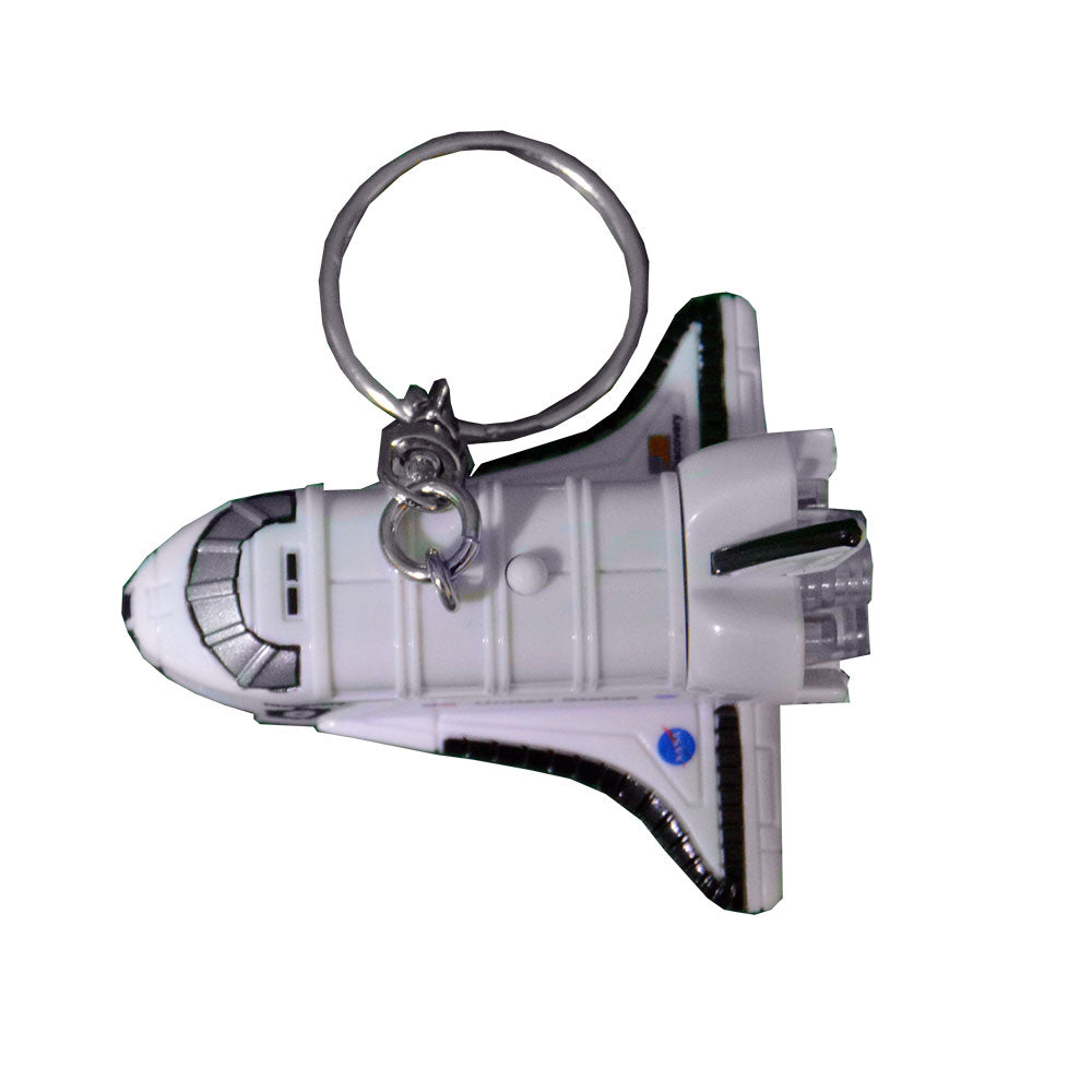 Shuttle With Lights & Sound Keychain