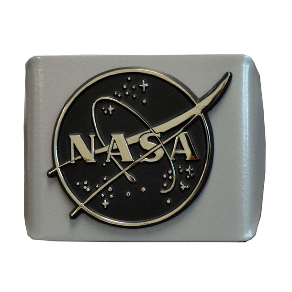 NASA Silver Hitch Cover