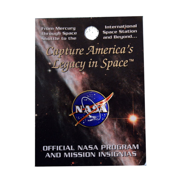 Small NASA Pin
