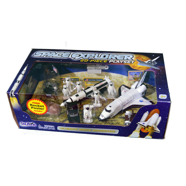 Space Explorer 20-Piece Play Set
