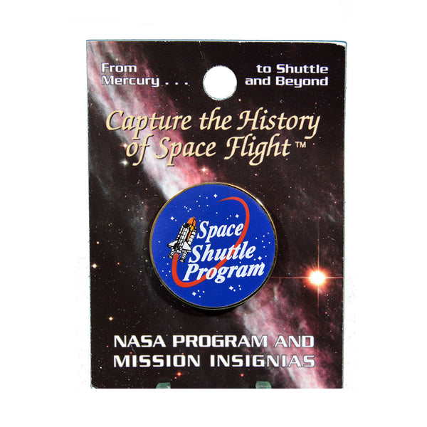 Space Shuttle Program Pin