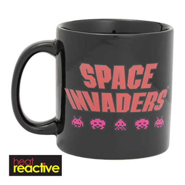Space Invaders Heat Reactive Mug