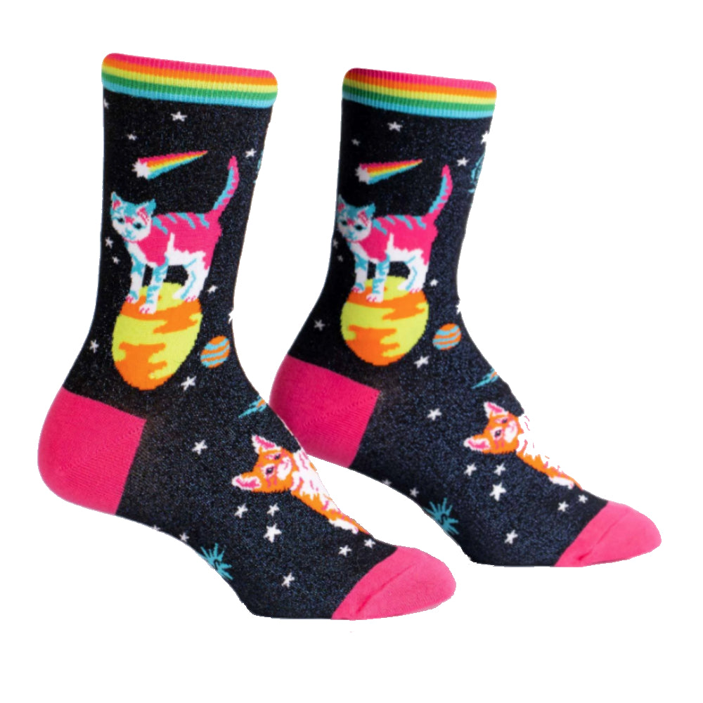 Space Cats Socks
