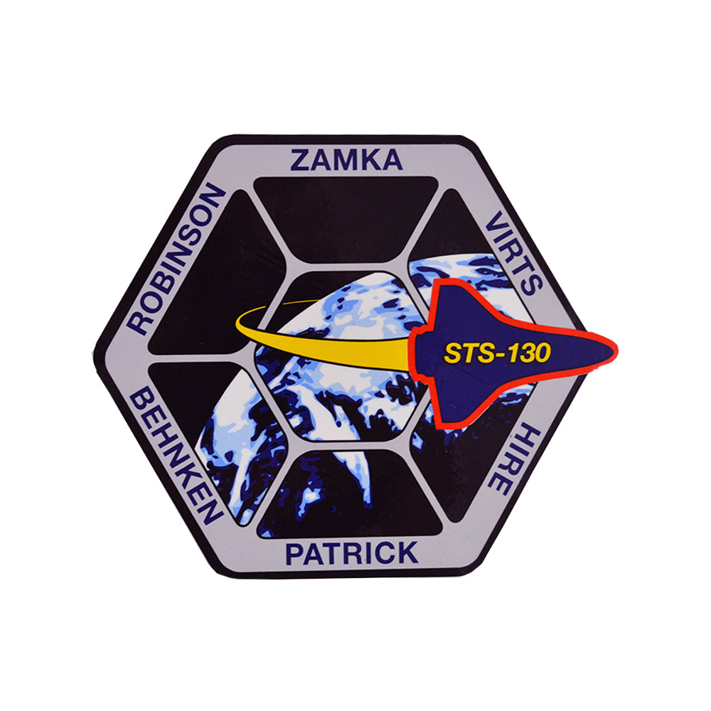 STS-130 Decal