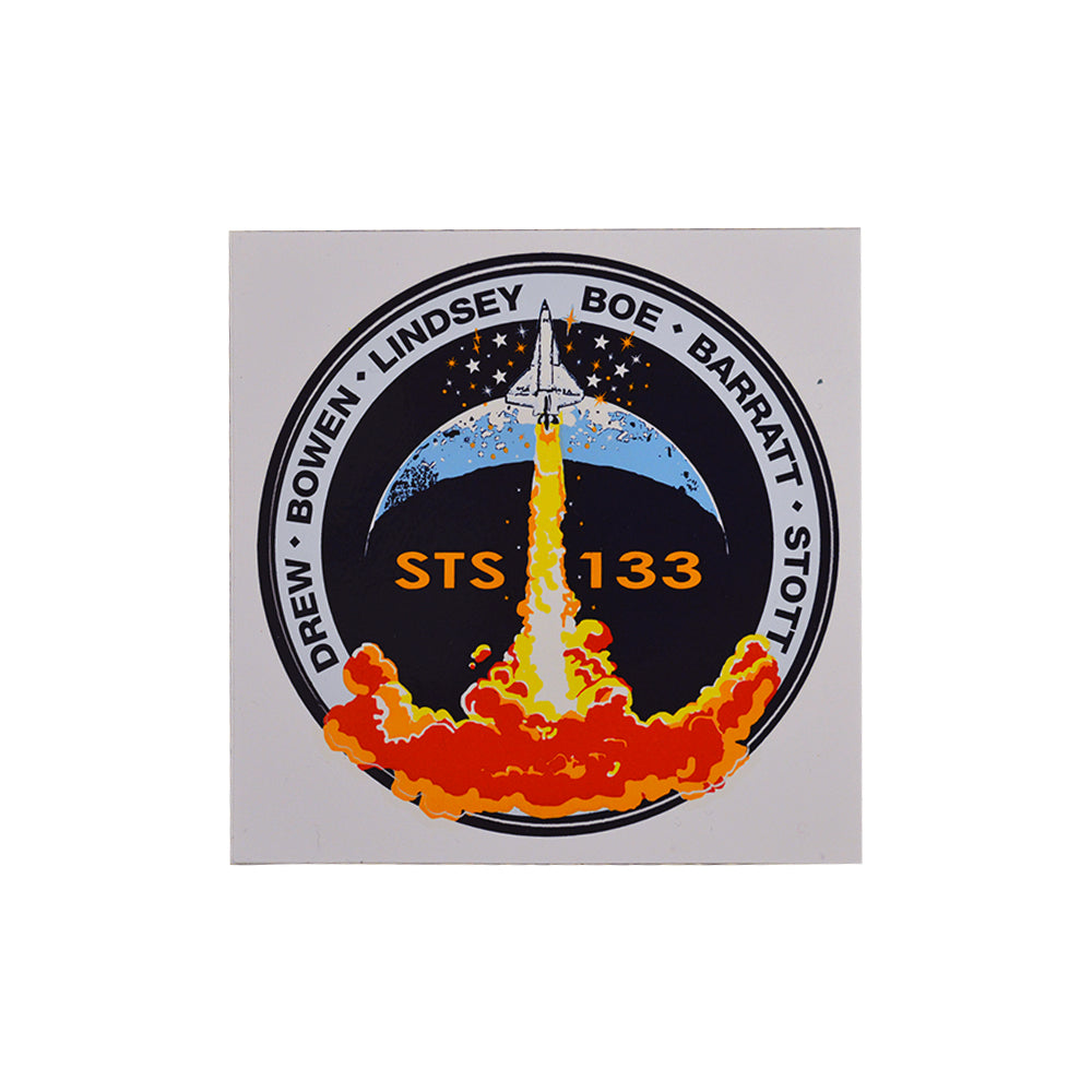 STS 133 Decal