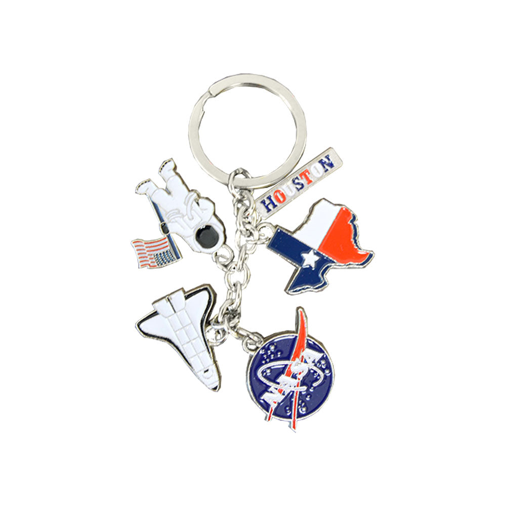 NASA/Texas Charm Key Chain