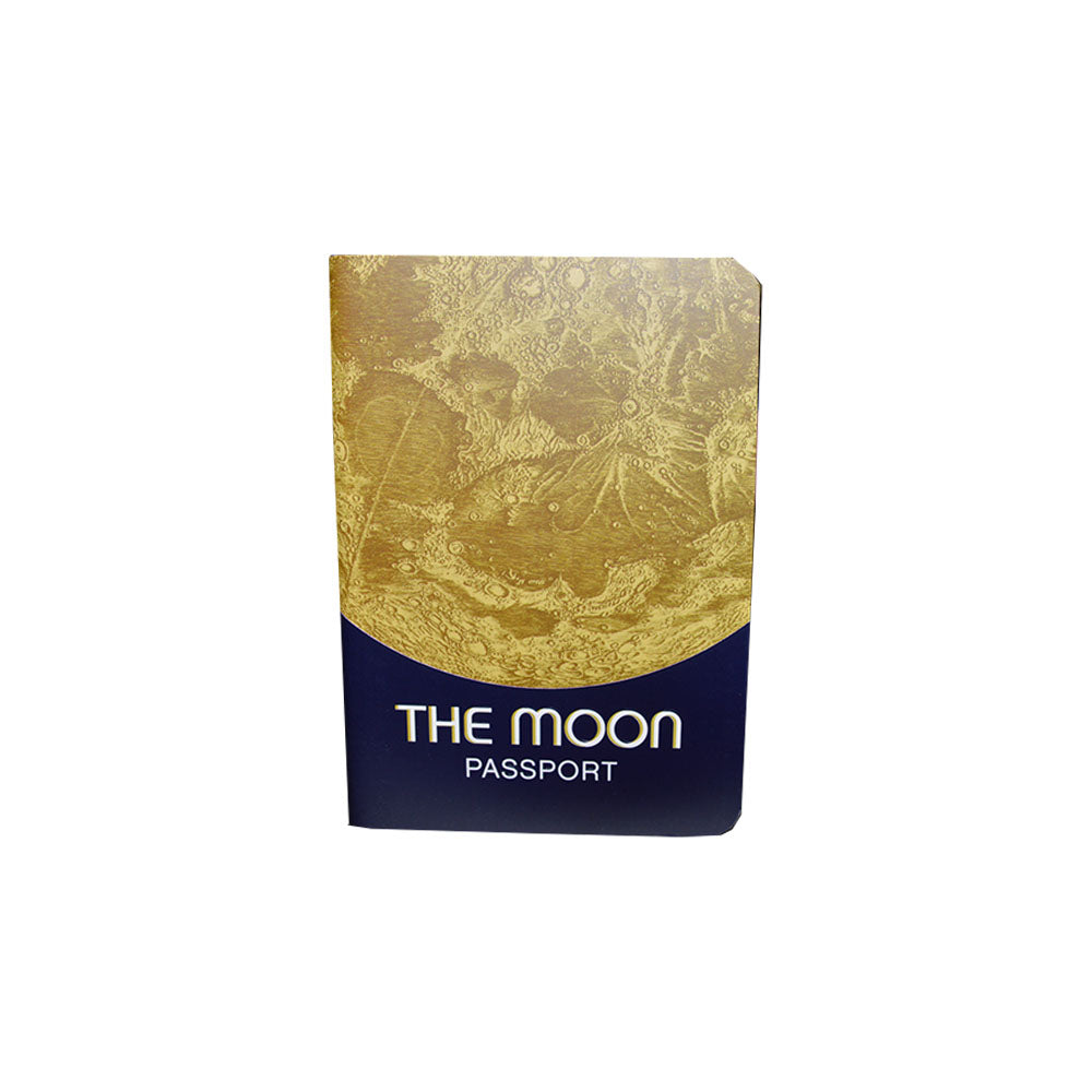 The Moon Passport Pocket Notebook