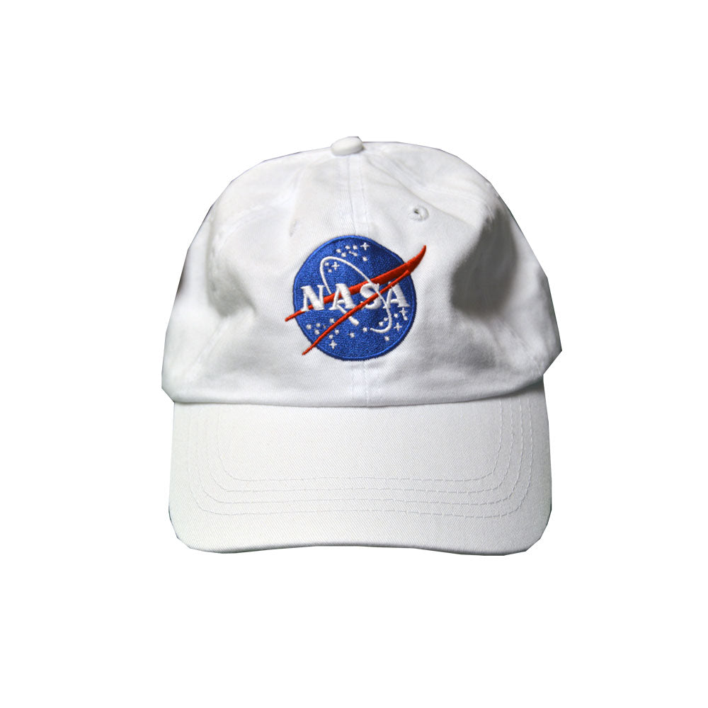 White NASA Cap
