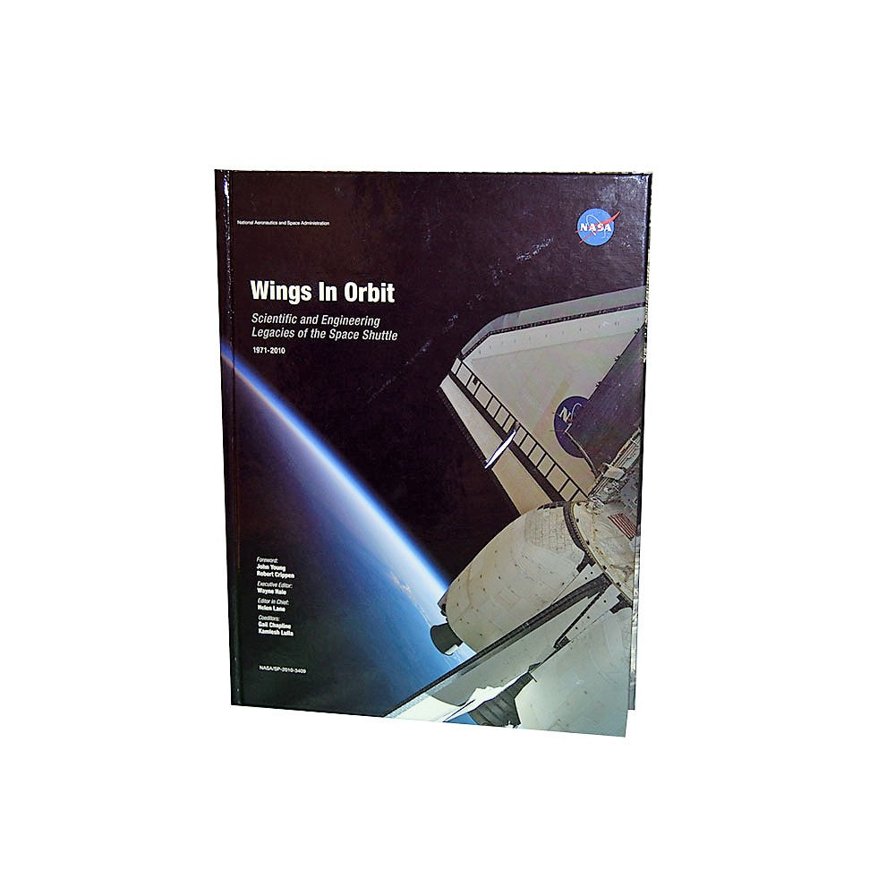 wings in orbit hard cover book shop nasa the official gift shop