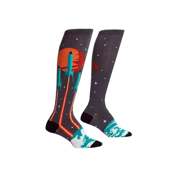 Women's Launch from Earth Socks