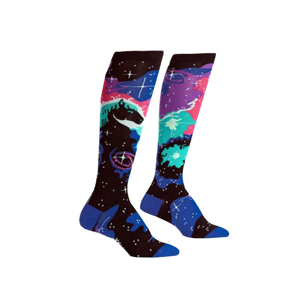 Ladies Horsehead Nebula Socks