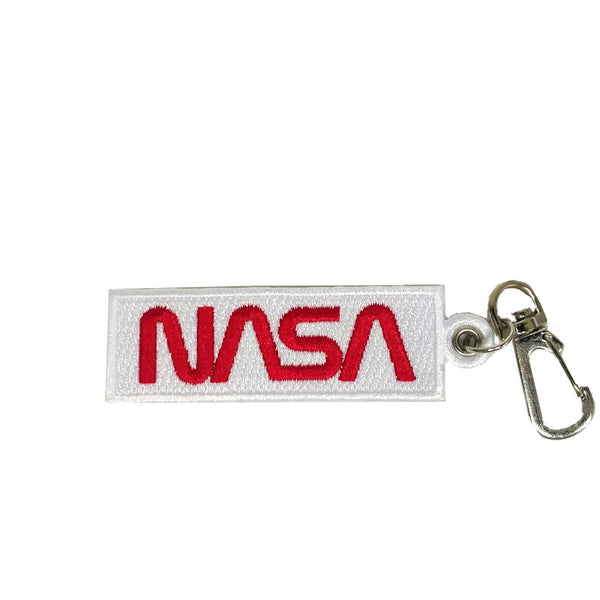 NASA Worm Keychain