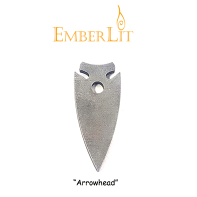 Emberlit Flint and Steel - Arrowhead - Emberlit