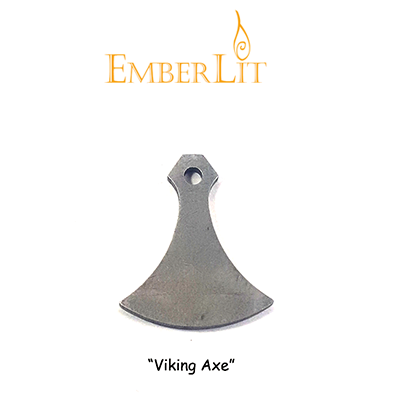 Emberlit Flint and Steel - Viking Axe - Emberlit