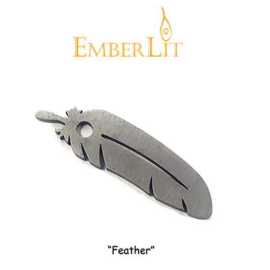 Emberlit Flint and Steel - Eagle Feather - Emberlit