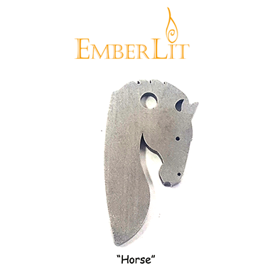 Emberlit Flint and Steel - Horse - Emberlit