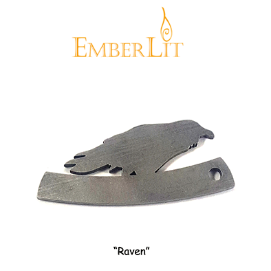 Emberlit Flint and Steel - Raven - Emberlit