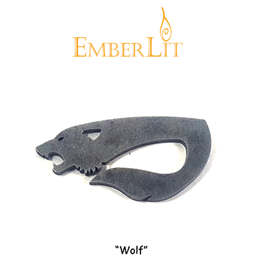 Emberlit Flint and Steel - Wolf - Emberlit