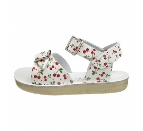 Salt Water Sandals - SURFER Cherry Print