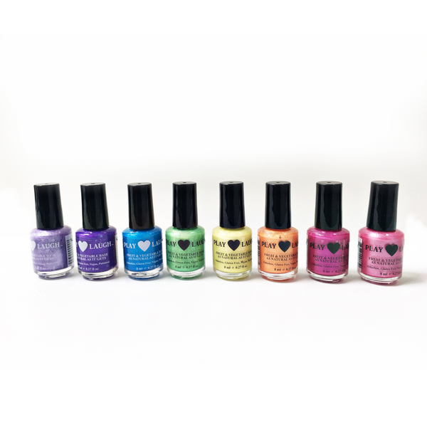 Play Laugh - Fruit & Vegetable Base Nail Polish