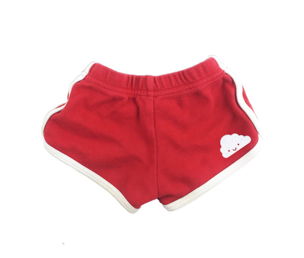 Whistle and Flute - Red Running Shorts