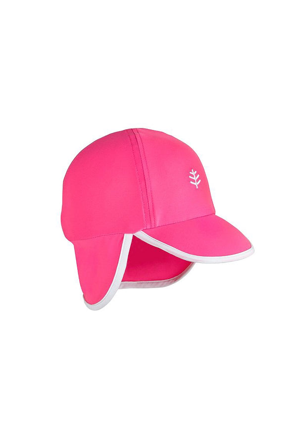 Coolibar - Baby Splashy All Sport Hat Pink