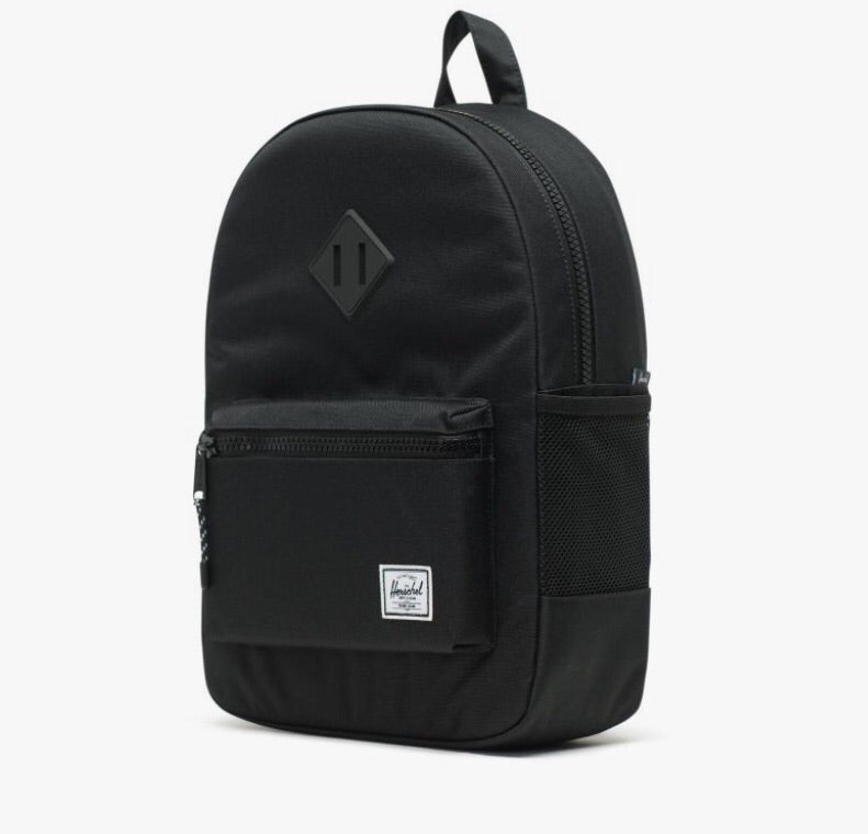 Heritage Backpack | Youth | Black Rubber