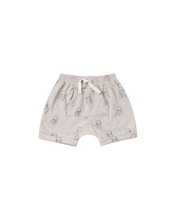Rylee + Cru - Shorts Front Pouch Jellyfish