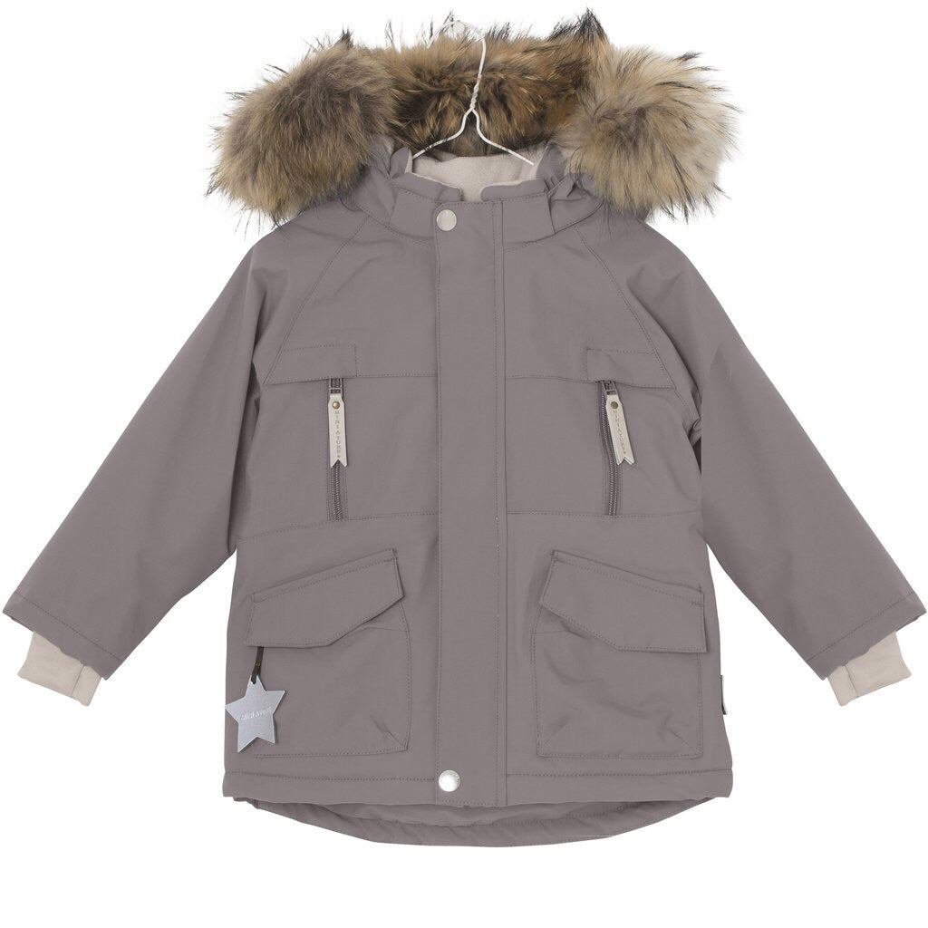 Mini A Ture - Wille Jacket Steel Grey * Fur Trim NOT included*