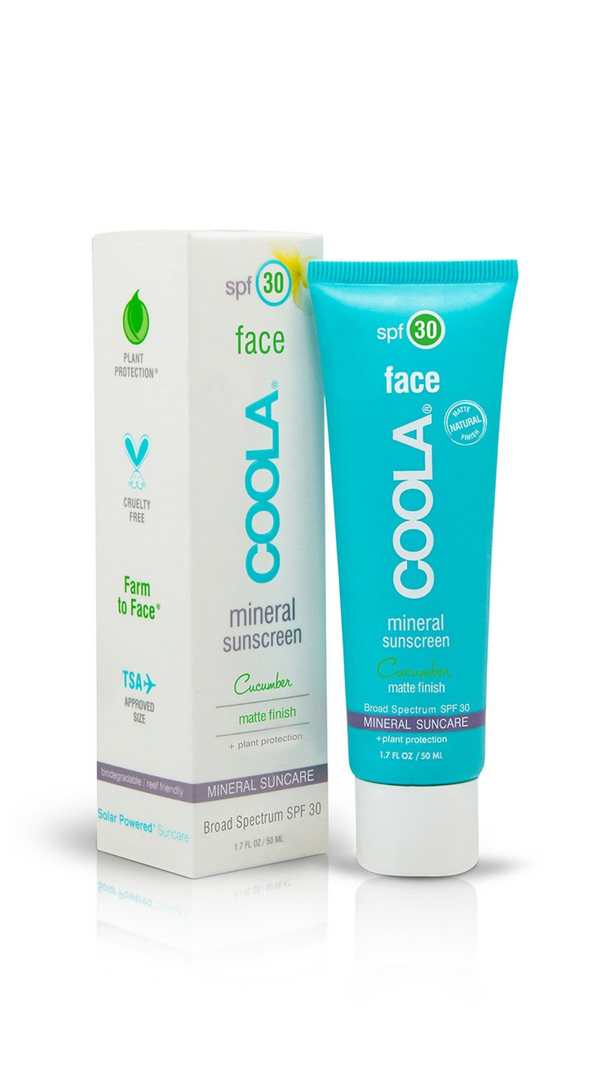 COOLA - Mineral Face SPF30 Cucumber
