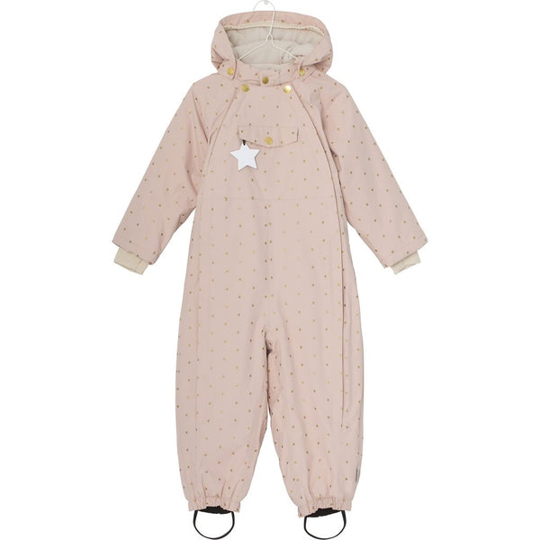Mini A Ture - Wisti Snowsuit Rose Smoke